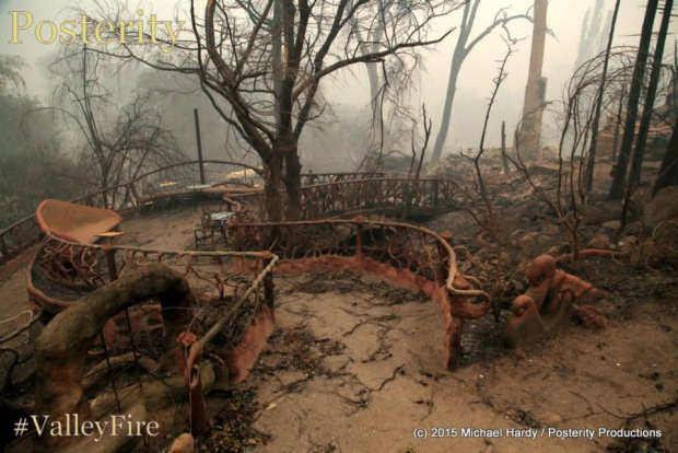 [GALLERY]Harbin Hot Springs Consumed By Valley Fire