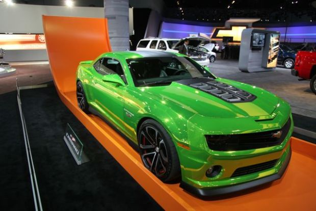 American Muscle Cars at the LA Auto Show