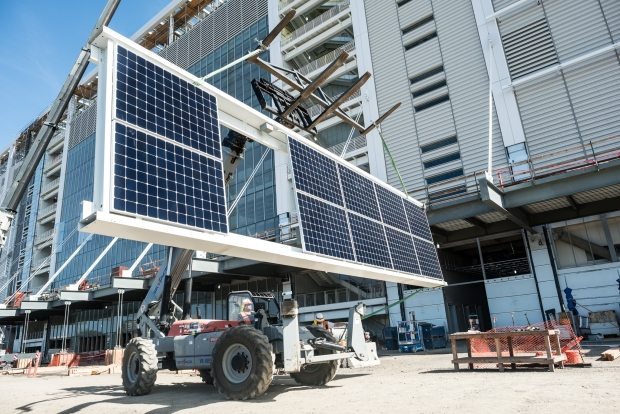 [BAY] 49ers' New Stadium Goes Solar to Save Energy
