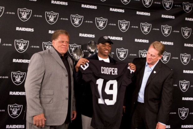 Oakland Raiders Introduce First Round Pick Amari Cooper