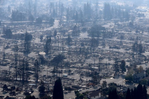 [BAY] Tubbs Fire Started From Private Electrical System, Not PG&E