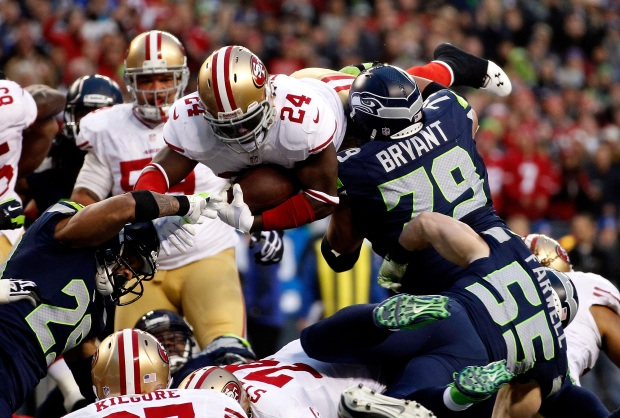 49ers vs. Seahawks NFC Championship Game 2014