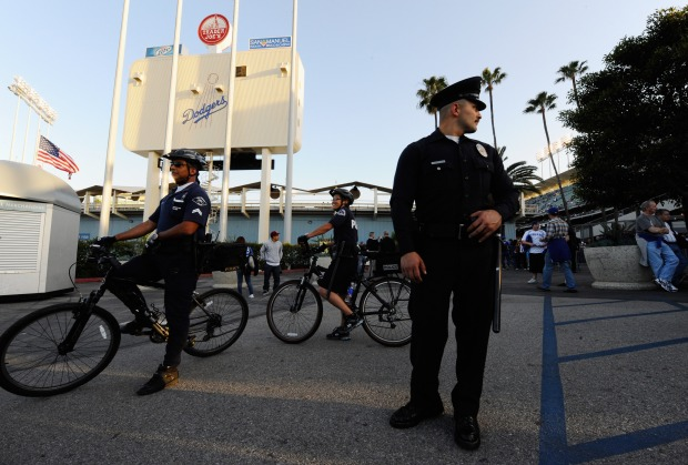 Image Gallery: Security at Dodger Stadium