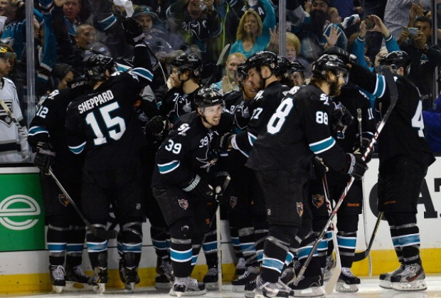 San Jose Sharks vs Los Angeles Kings