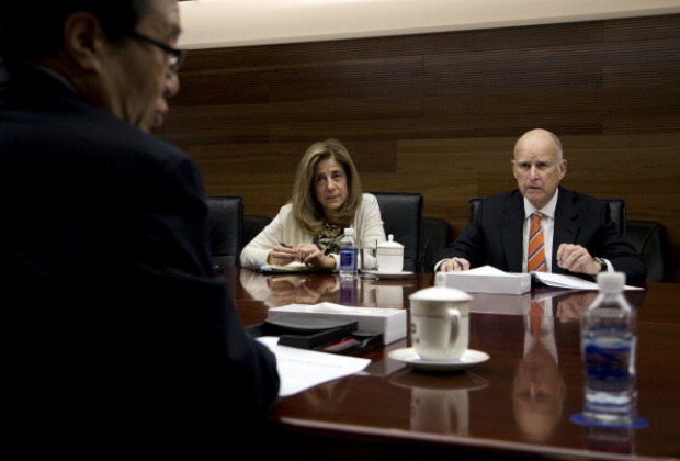 Gov. Jerry Brown Visits China