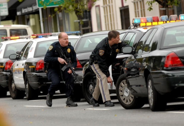 Images: Oakland Police Shooting