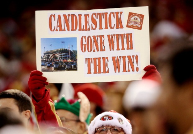 [BAY] 49ers, Fans Say Farewell to Candlestick Park