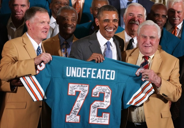 PHOTOS: Obama Honors '72 Dolphins