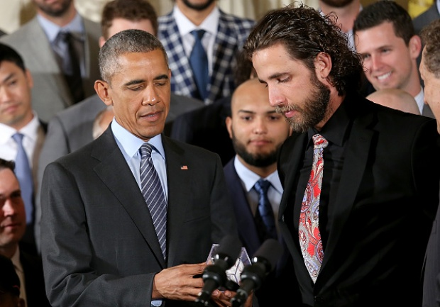 2014 World Series Champion San Francisco Giants Visit White House