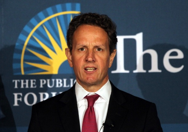 Timothy Geithner Speaks in SF