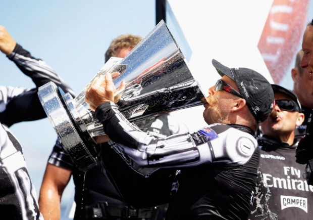 New Zealand Wins Louis Vuitton Cup