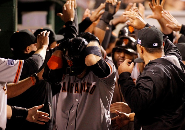 [BAY] Fans Cheer on Giants at AT&T Park