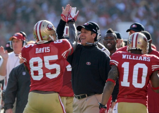 Images: 49ers vs. Saints