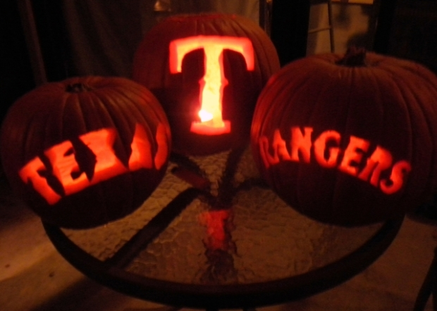 Halloween With a Rangers Theme