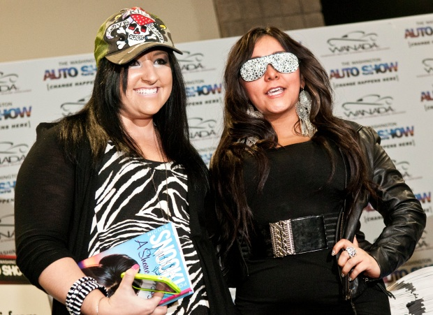 Snooki Meets Her Match at Auto Show
