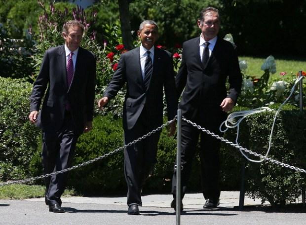 Pres. Barack Obama Congratulates SF Giants