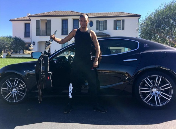 Rags to Riches: 'Hot Felon' Sports Maserati, Mansion in Post-Prison Life Photos