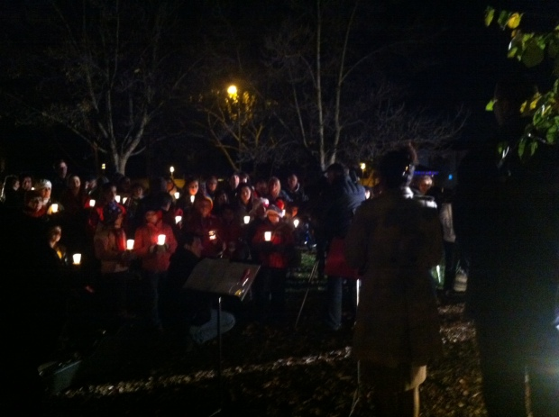 [BAY] Pleasanton Holds Vigil for Newtown Victims