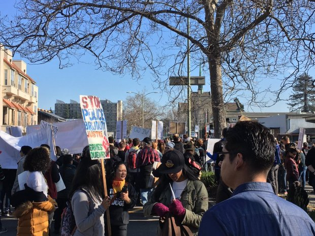 Martin Luther King March in Oakland