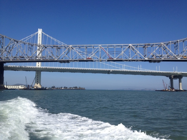 [BAY] Engineers Set to Split Old Eastern Span of Bay Bridge in Half