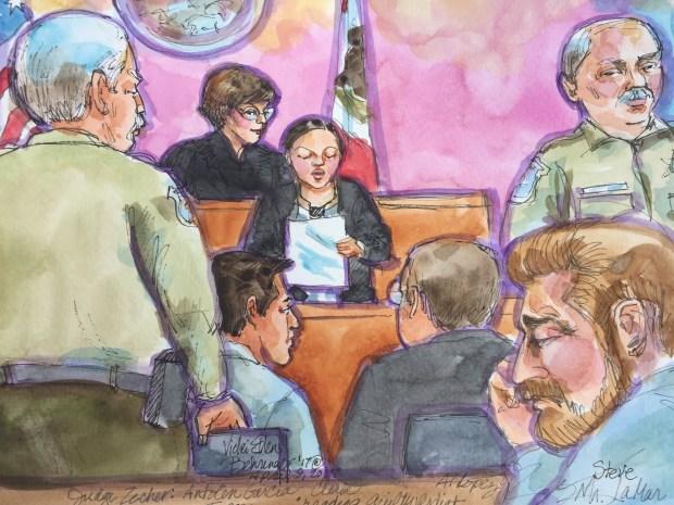 Tense, Emotional Moments During Garcia-Torres Verdict