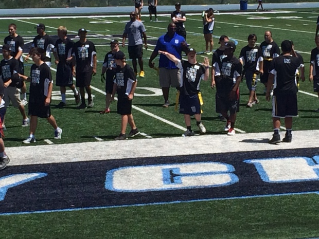 Football Camp for the Stars Gives Athletes with Down Syndrome Chance to Shine