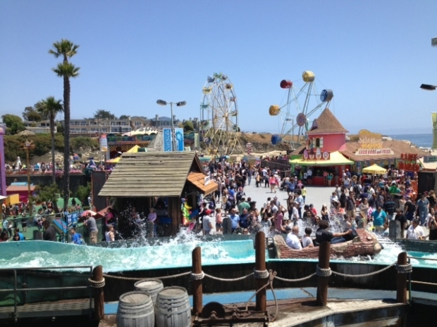 Santa Cruz Boardwalk, Fun in the Sun