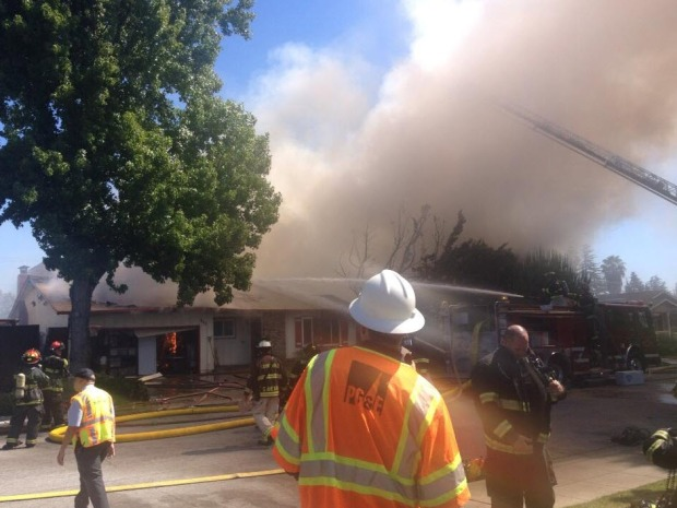 [BAY] Multiple Sunnyvale Homes Engulfed in Flames