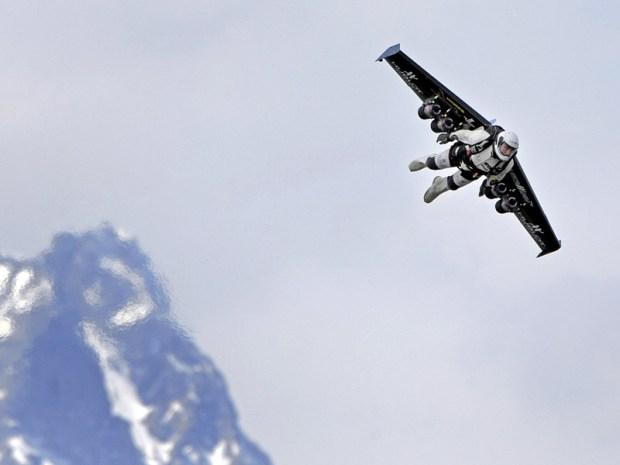 Rocket Man Takes to the Skies