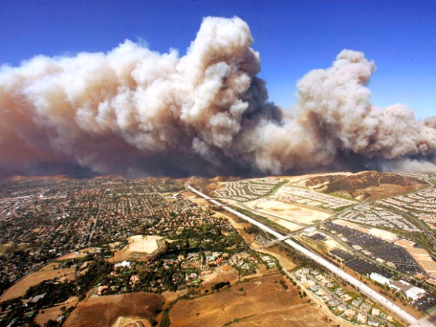 Wildfires Burn Through Southern California