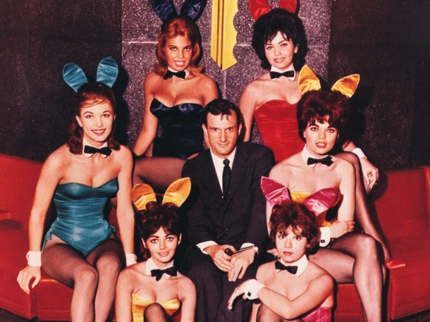 "[LA] Hugh Hefner Talks About the New NBC ""Playboy Club"""