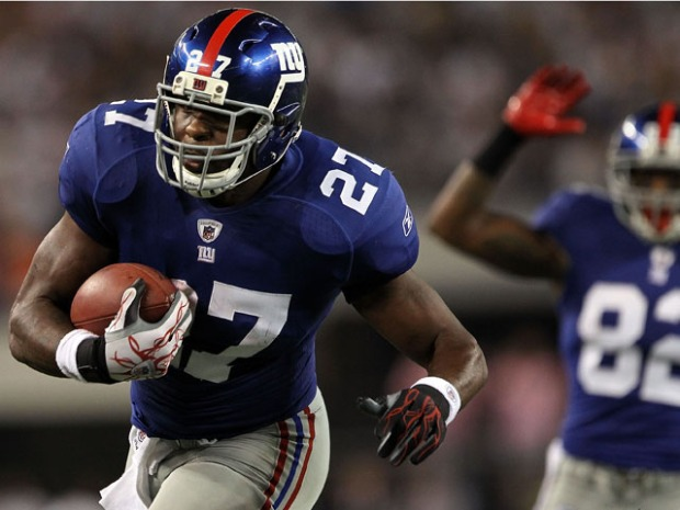 In Photos: Brandon Jacobs in Action