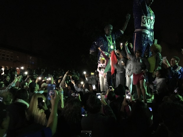 San Jose State University Students Protests Turned Violent
