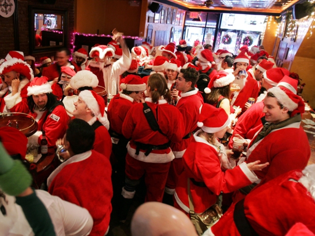 Holiday Fun With Santacon