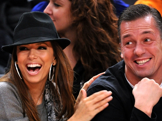 Knicks Celebrity Row