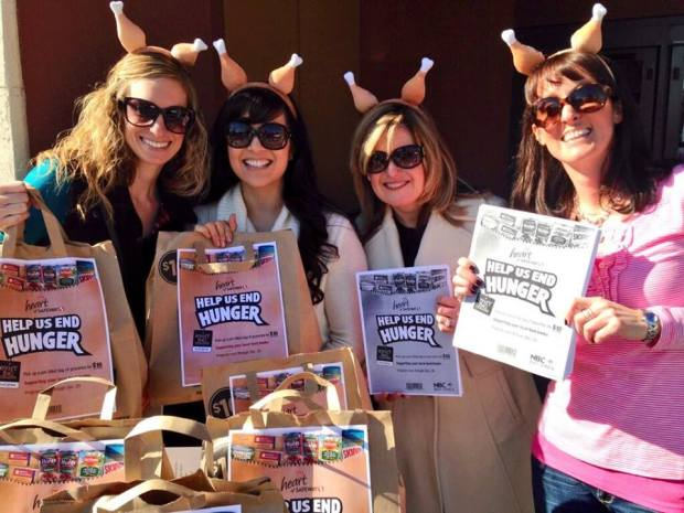"""[BAY] NBC Bay Area and Safeway's """"Help Us End Hunger Now"""" Holiday Food Drive"""