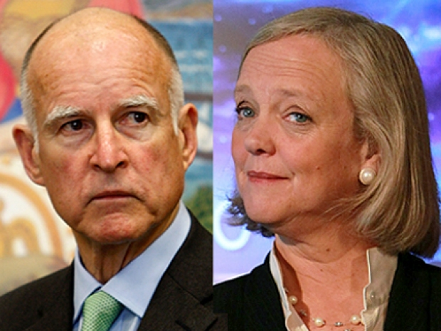 [LA] Brown, Whitman Prepare for First Debate