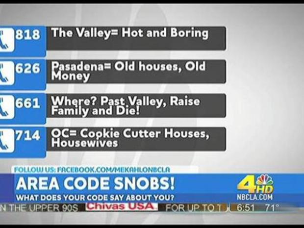 [LA] Area Code Snobs