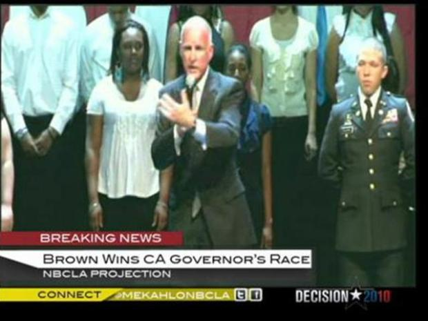 [LA] Jerry Brown Declares Victory