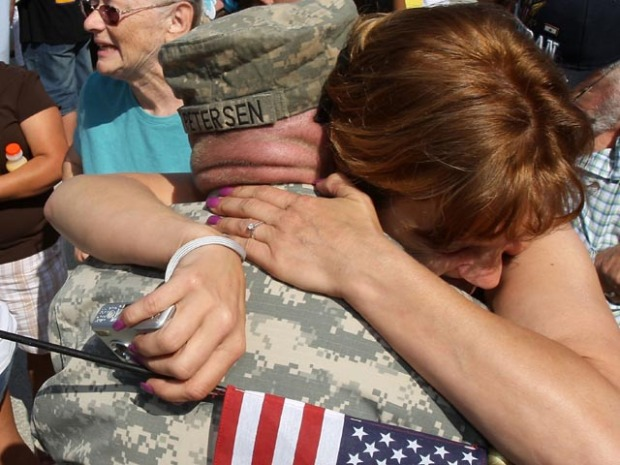 Calif. National Guard Soldiers Return Home From Iraq