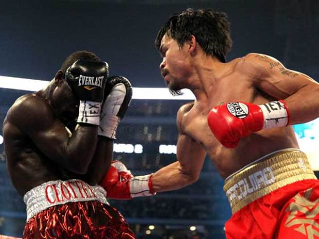 Pacquiao vs. Clottey at JerryWorld