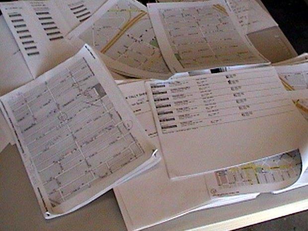 ACORN Documents Found in Trash
