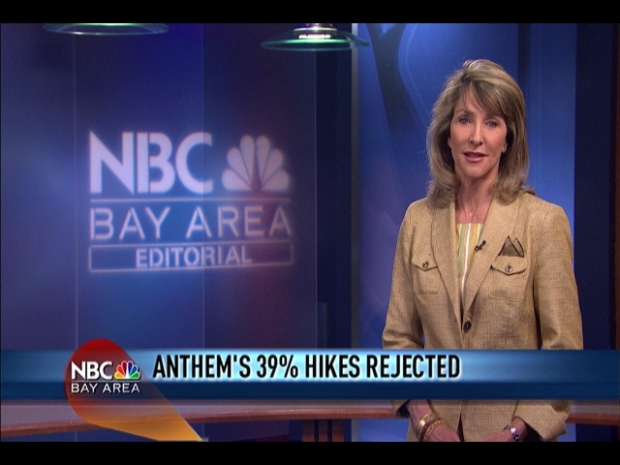 [BAY] Anthem Blue Cross Rate Hikes Halted