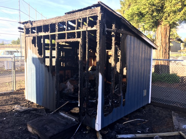 Snack Shack, School Property Damaged at San Jose High School