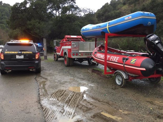 Rescue Crews Fish for Car in Alameda Creek Belonging to Missing 18-Year-Old