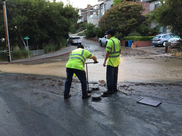 Water Main Break Prompts Evacuation of Four Homes in Belmont
