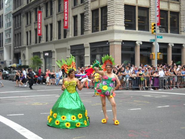 Gay Pride Parade Celebrates 40th Anniversary