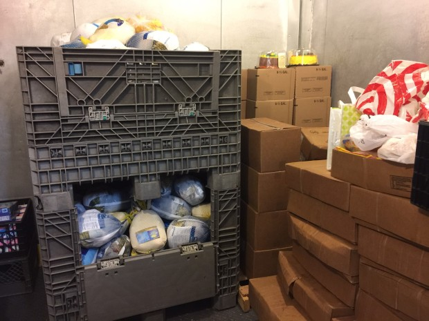 Sacred Heart  Receives Food Donations in Time for the Holidays