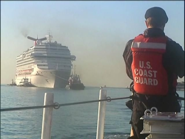 [DGO] Guiding Carnival Cruise Ship Into Port