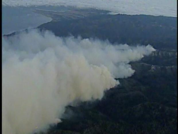 [BAY] Aerial Attack Underway in Santa Cruz Mountains